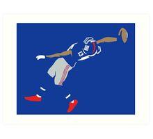 Odell Beckham Jr Catch Art Print