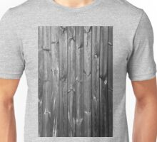 black and white wooden boards Unisex T-Shirt