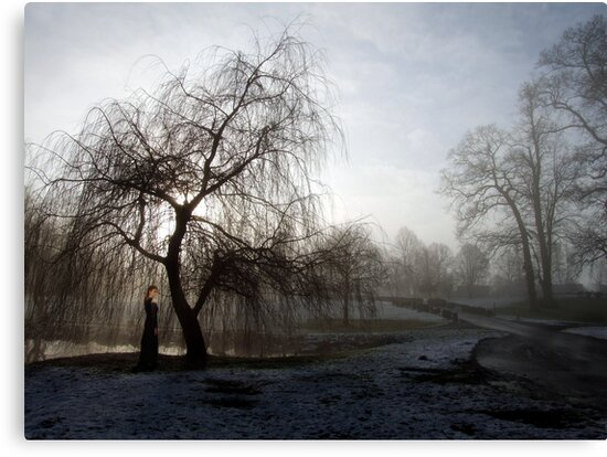 Figure in the Mist by Samantha Higgs