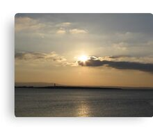 Evening over Scattery Island Canvas Print