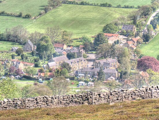 Rosedale Abbey by Colin Metcalf