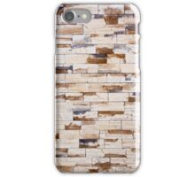 cracked real stone wall iPhone Case/Skin