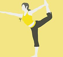 Wii Fit Trainer ♀ (Yellow) - Super Smash Bros. by samaran