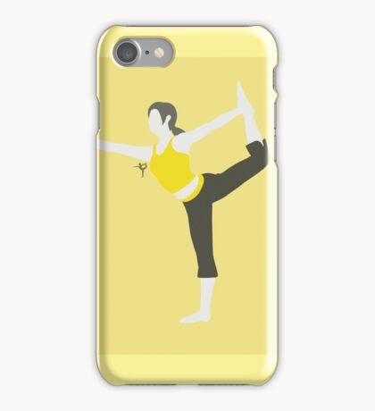 Wii Fit Trainer ♀ (Yellow) - Super Smash Bros. iPhone Case/Skin