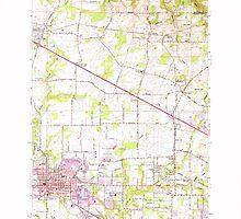 USGS Topo Map Oregon Hillsboro 280213 1961 24000 by wetdryvac