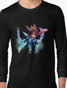 Ash-Greninja Long Sleeve T-Shirt