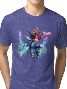Ash-Greninja Tri-blend T-Shirt