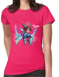 Ash-Greninja Womens Fitted T-Shirt