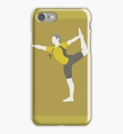 Wii Fit Trainer ♂ (Yellow) - Super Smash Bros. iPhone Case/Skin