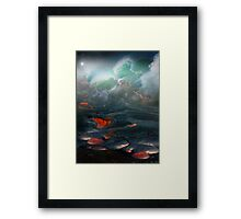 Clash Of The Elements Framed Print