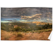 The Valley - Merlins Lookout , Hill End NSW - The HDR Experience Poster