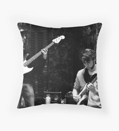 Jazz in the Grotto Throw Pillow