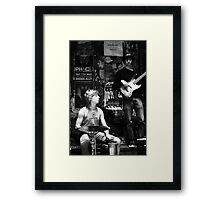 Jazz in the Grotto II Framed Print