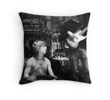 Jazz in the Grotto II Throw Pillow