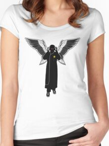 Audio Angel Women's Fitted Scoop T-Shirt