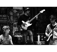 Three cool Jazz Dudes Photographic Print