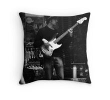 Three cool Jazz Dudes Throw Pillow