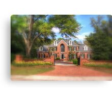 House in SC-soft focus Canvas Print