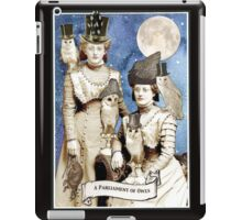 A Parliament of Owls iPad Case/Skin