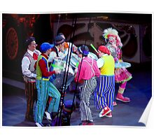"""Circus Clowns"" Poster"