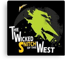The Wicked Snitch of the West - Dark Canvas Print