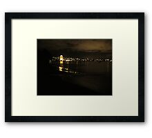 """""""Reflections of the night"""" Framed Print"""