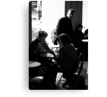 What's on the menu ...? Canvas Print