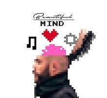 Beautiful Mind 8-Bit by KadenBDesigns