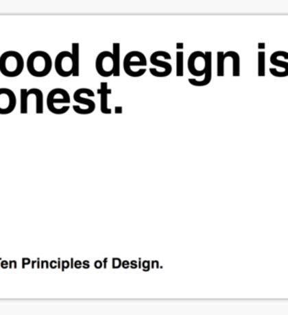 Principles of Design 6 Sticker