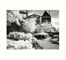 Courthouse McMinnville Tennessee Art Print