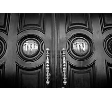 Dark Door Photographic Print