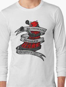 Red Dalek Long Sleeve T-Shirt