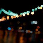 Blurry Manhattan Bridge by Kalpesh Patel