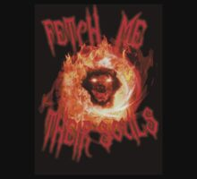 BLACK OPS 2: ZOMBIES - Fetch Me Their Souls Hellhound Design (Call of Duty: Zombies Mob of the Dead) by Trey Anderson