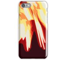 Explosion- Red iPhone Case/Skin