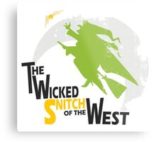 The Wicked Snitch of the West - Light Metal Print