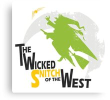 The Wicked Snitch of the West - Light Canvas Print