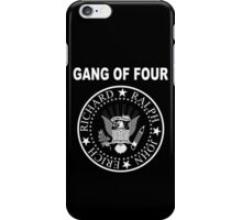 Gang of Four • Ramones Style Design for Programmers iPhone Case/Skin