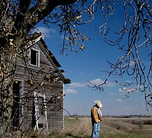 Cowboy's Repose by Glennis  Siverson