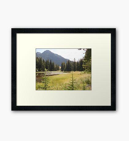 """MY"" GOLDEN POND  Framed Print"