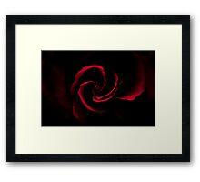 Dark Heart Framed Print