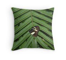 Butterfly & Fern Throw Pillow