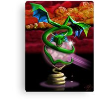 Crystal Dragon Canvas Print