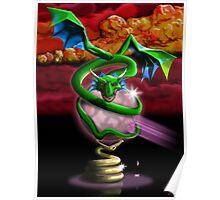 Crystal Dragon Poster