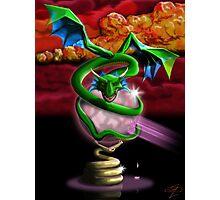 Crystal Dragon Photographic Print