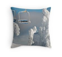 Frozen Chairs Throw Pillow