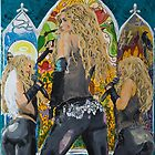 Shakira Times Three by QUEARTISTRY