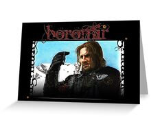 Boromir - Man of Gondor Greeting Card