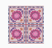 Abstract vector decorative ethnic floral colorful seamless pattern Womens Fitted T-Shirt
