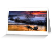 Eyebridge Mist 2 Greeting Card
